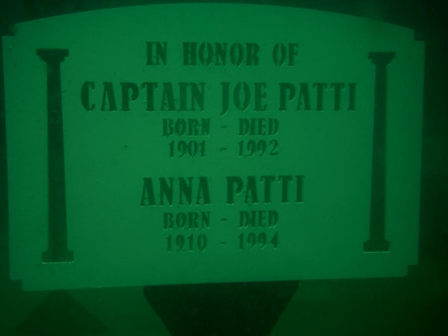 Joe Patti - Capt Joe Patti Memorial