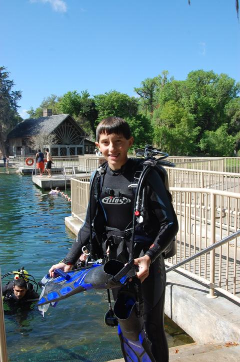 DeLeon Springs, De Leon Springs State Park - Dive DeLeon!