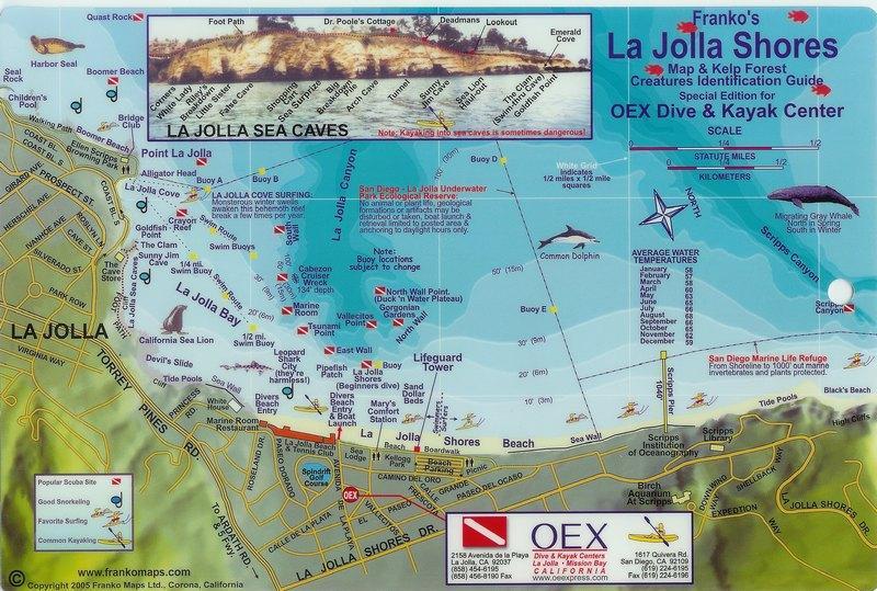 La Jolla Shores La Jolla Canyon La Jolla