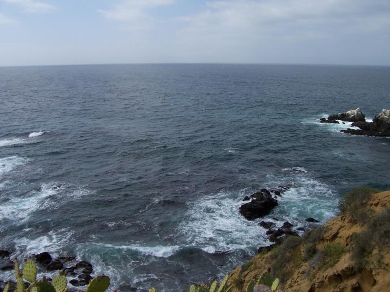 Crescent Bay Seal Rock - Crescent Bay