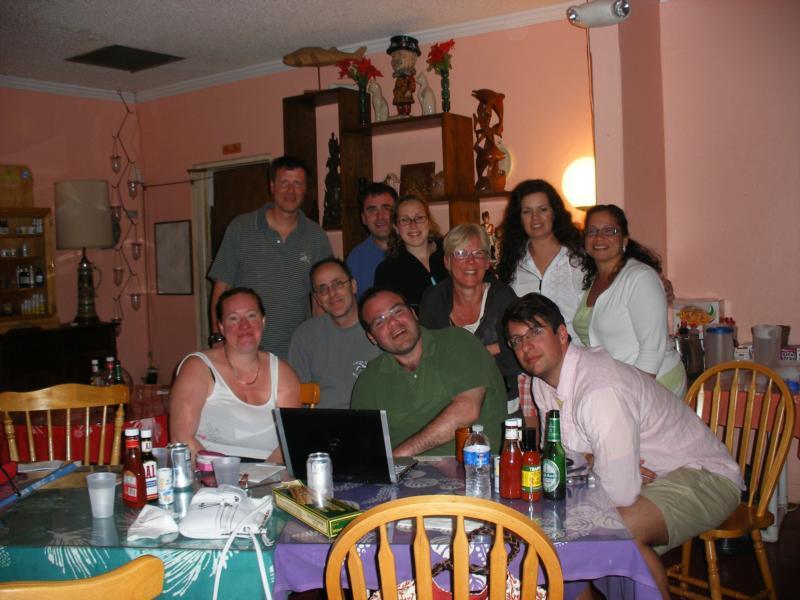 All of us @ Orange Hil Beach Inn