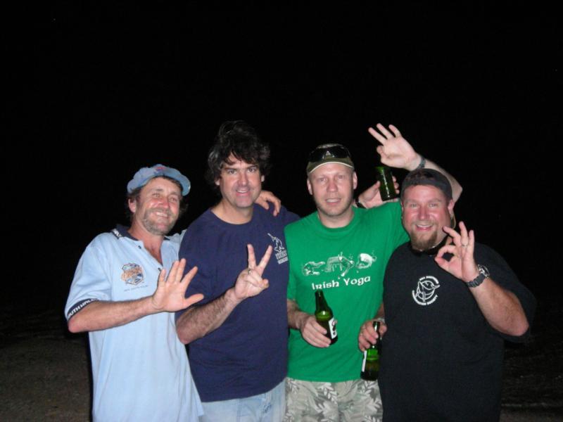 Party @ turtle Island Vanuatu