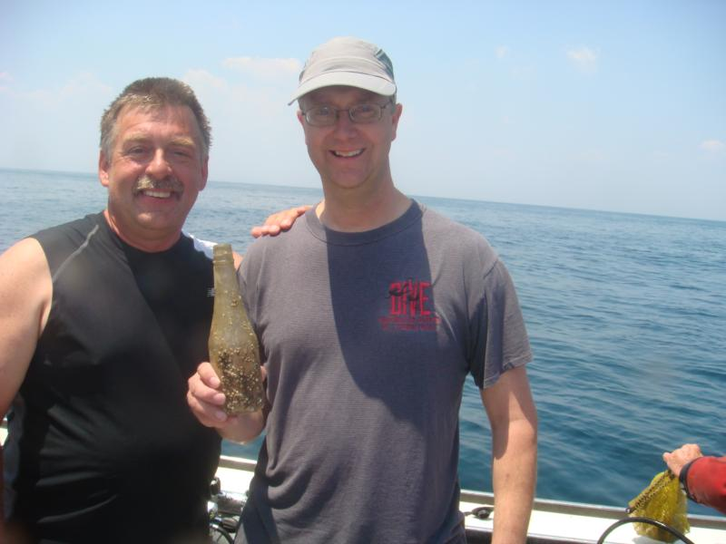 Me and my dive buddy Mike