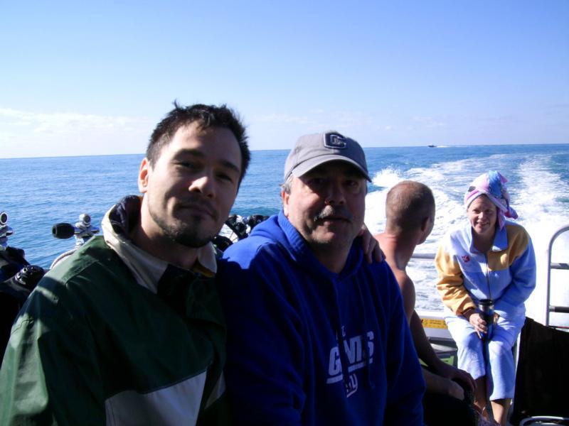 Father & Son Dive Tanks-A-Lot Fl.