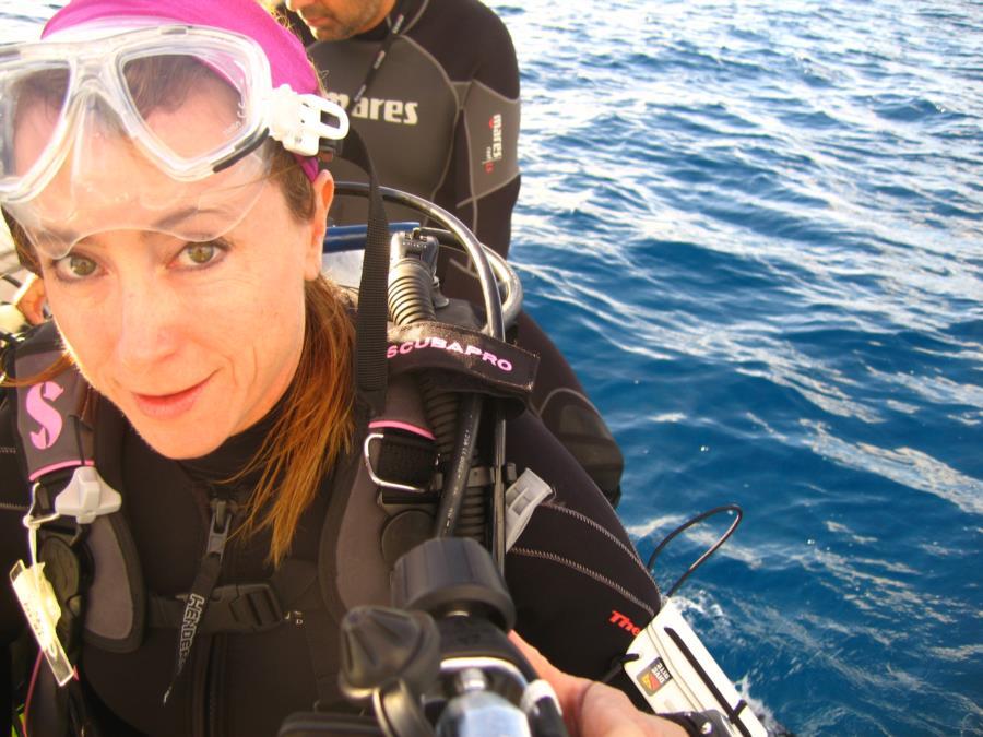 Trish in Bora Bora