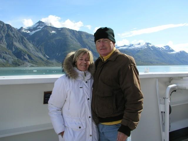 Ann & I in Glacier Bay National Park