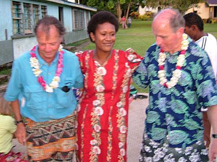 Dancing in Fiji