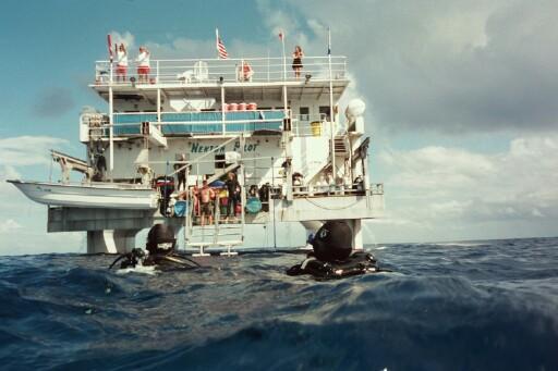 Nekton Pilot on Cay Sal Bank