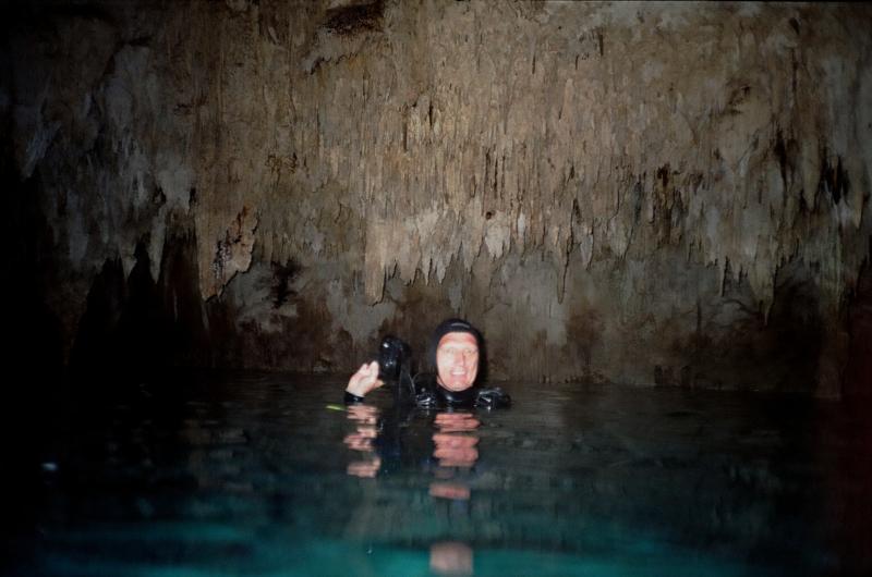 At Los Ojos Cenote