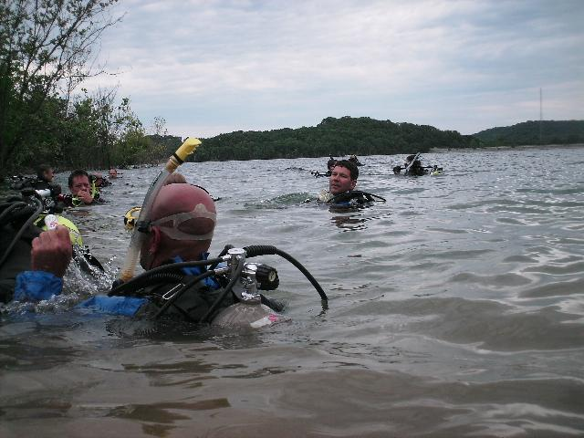 Buoyancy Class at Beaver Lake 6-6-09