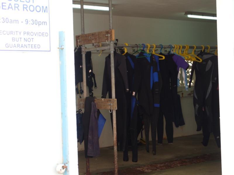 Dive & Adventure Equipment Storage Rm Bonaire
