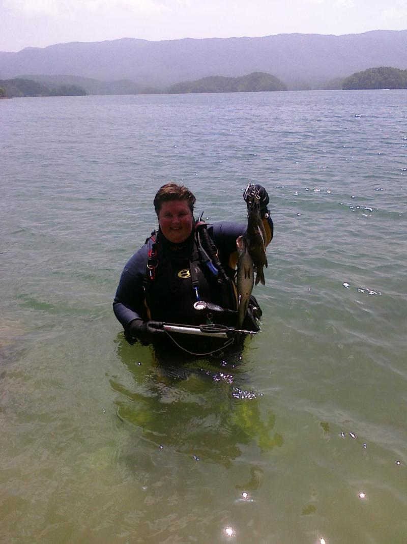 My first go at Spearfishing