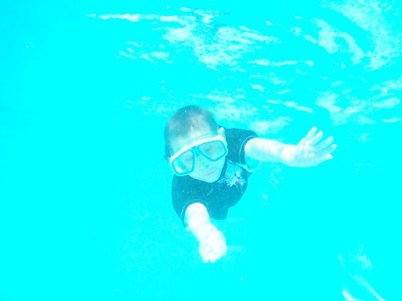 My boy logan future diver.