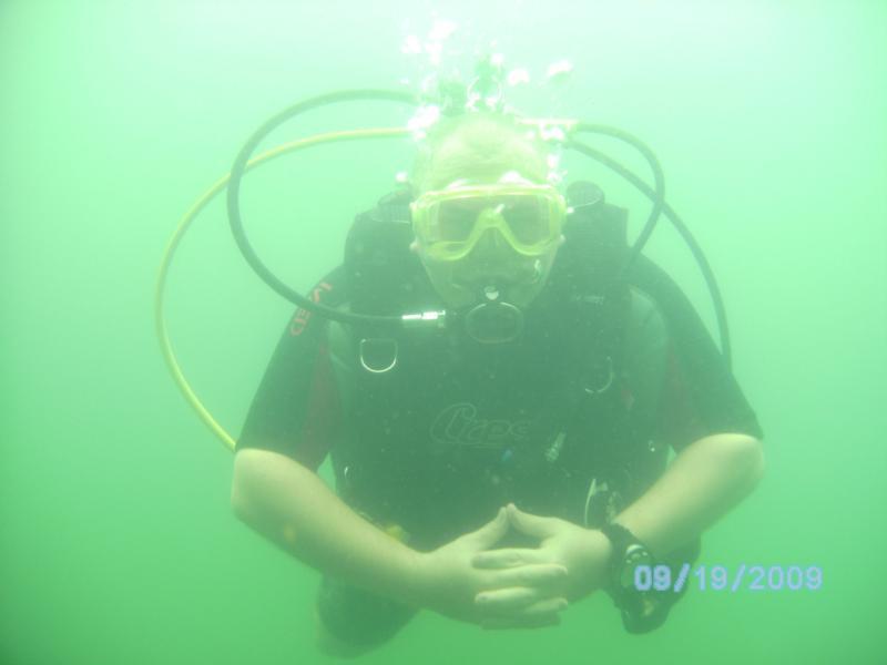 My 60th Dive pose