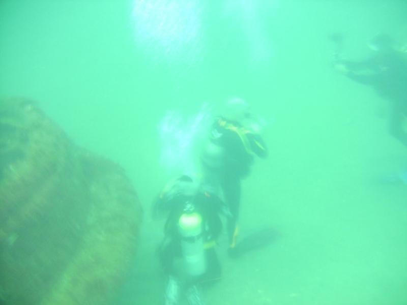 Diving the Titan