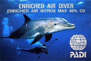 I'm Nitrox Certified Now   :)