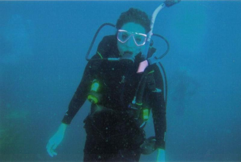 My first dive