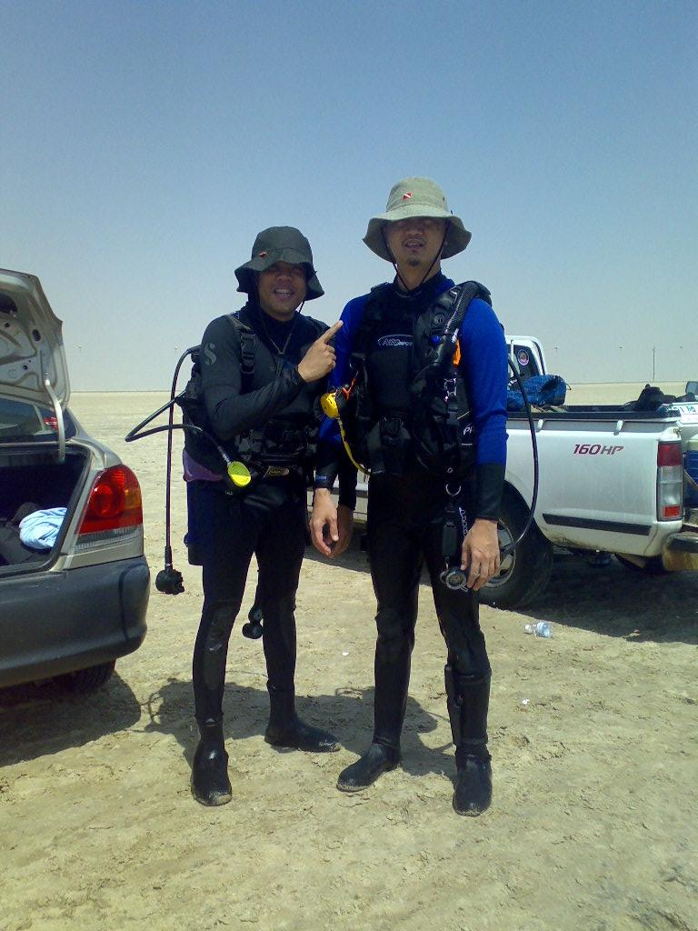 Me & Dive Master Mike