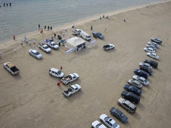 Aerial View of Project Aware - Halfmoon Beach, Dhahran, KSA