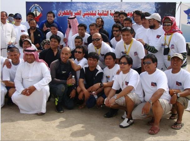 Pinoy International Scuba Divers - Dhahran, Saudi Arabi