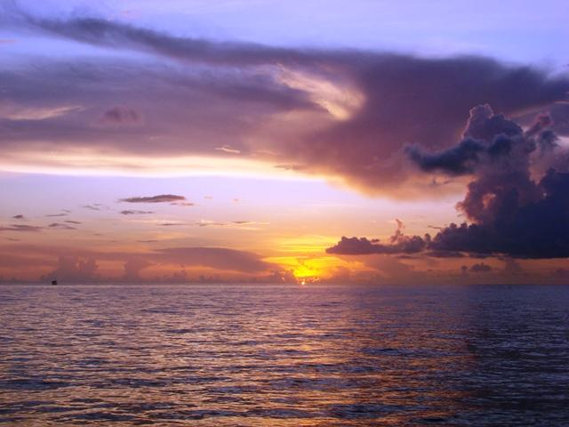 Just another sunrise in the Dry Tortugas