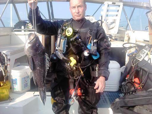 6 1/2 lb. Sea Bass 6/26/10
