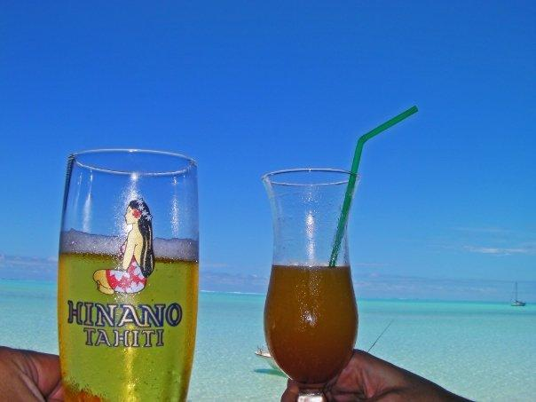 Beer-thirty and Bloody Mary, Bora Bora, someone break into song from South Pacific..