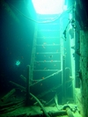 Beautiful shadow@underwater