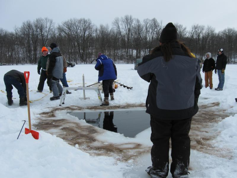 2011 long lake ice dive