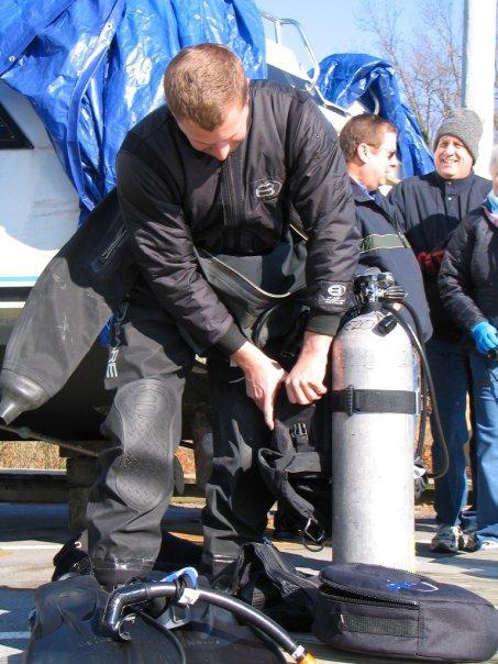 Drysuit Diving