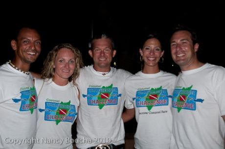Final Ceremony at the Ultimate Diver Challenge Competition