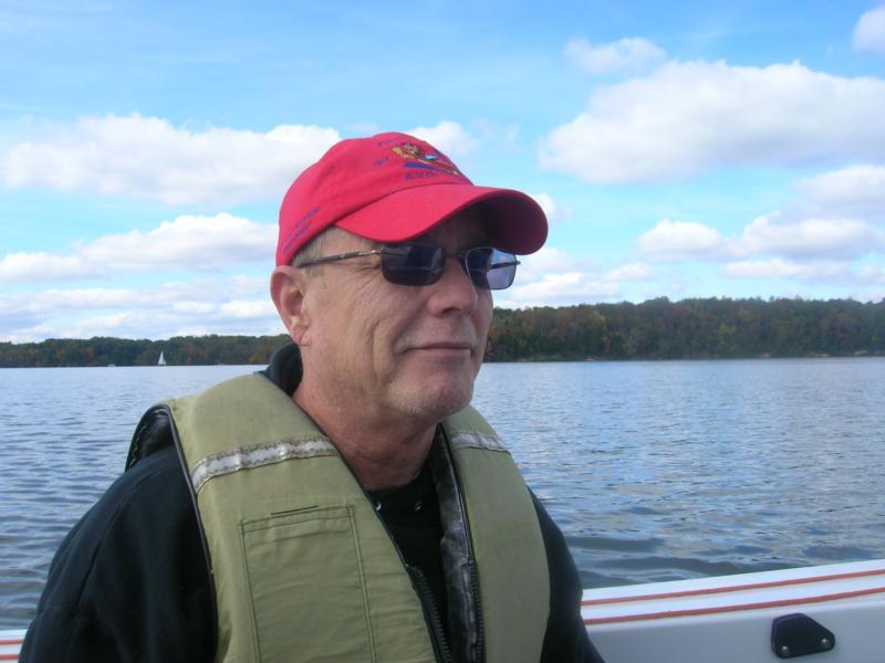 Sailing on Cowan Lake, Ohio