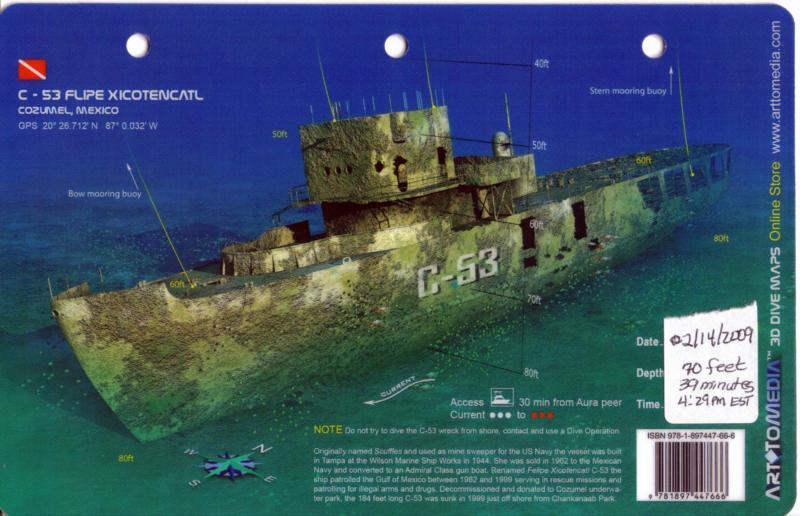 C-53 Cozumel Wreck