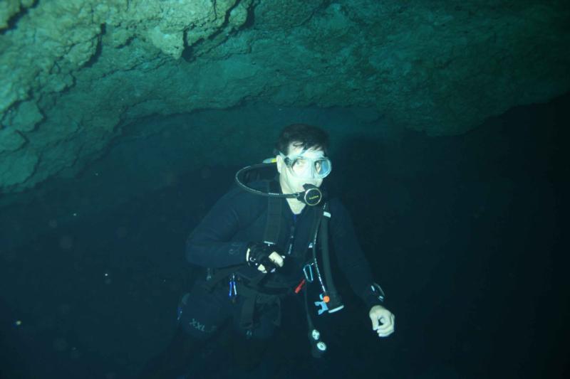 Ralph Cavern Diver