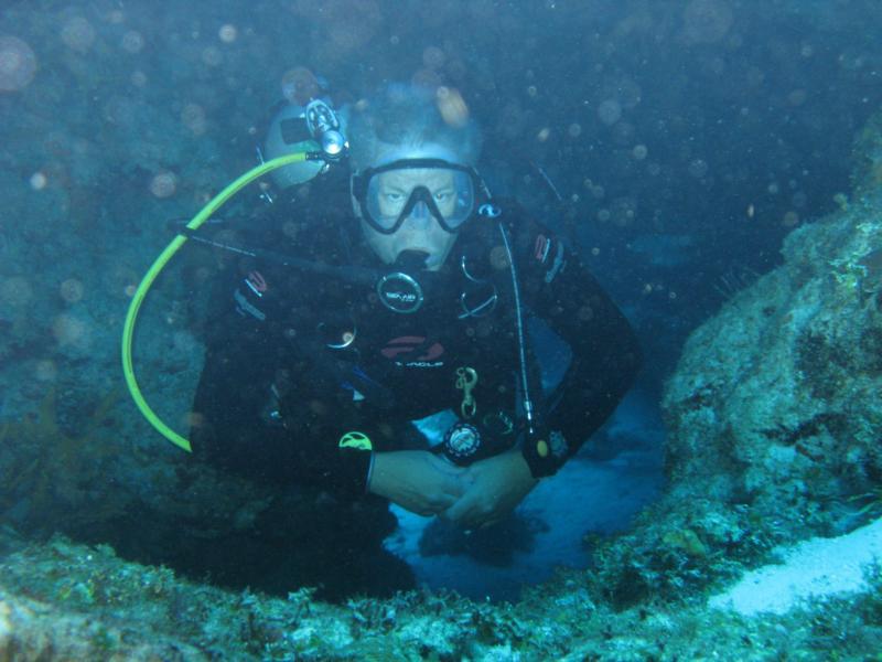 in Palancar caves - Cozumel
