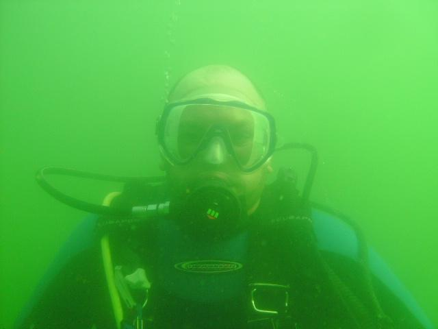 "My dive buddy, screen name ""diverjay"" on DiveBuddy"