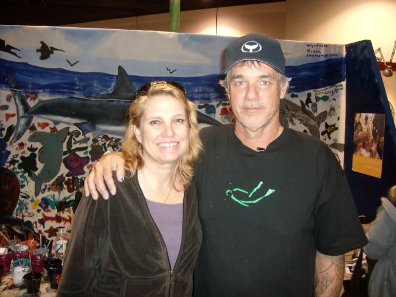 Me & Wyland at Scuba Show 2010