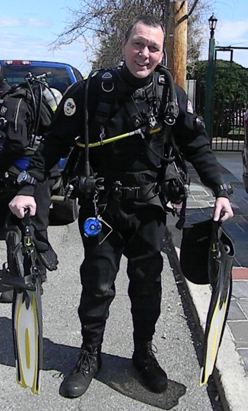 First Drysuit Dive City Island NY