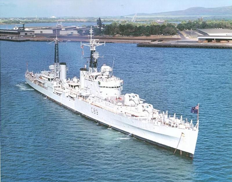 My first ship Cruiser Royalist truc trip