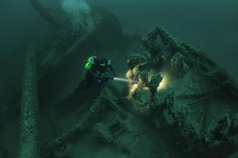 Wreck diving at it's best!