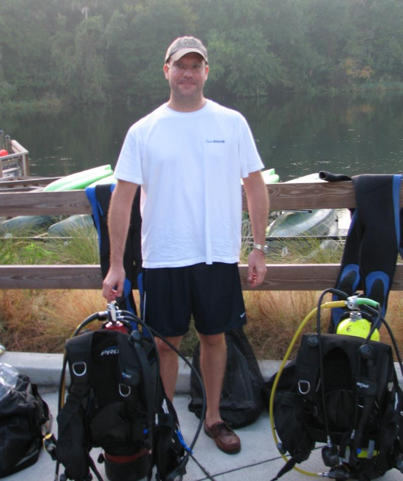 getting ready for open water dive cert