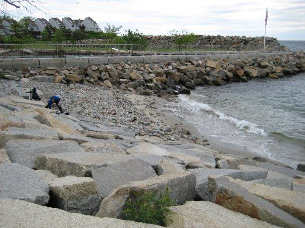 Back Beach in Rockport, MA- first ocean dive