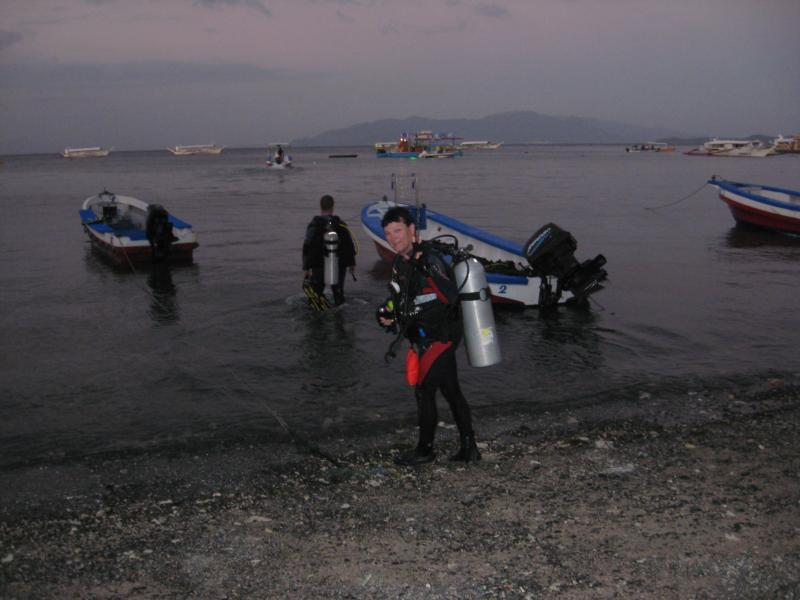 Going Night Diving