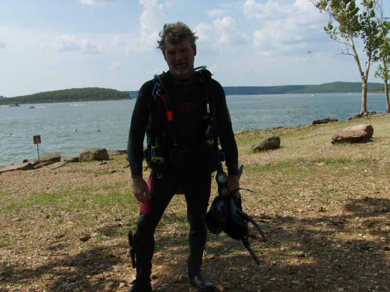 Ok just a little bad hair due after the dive..lol