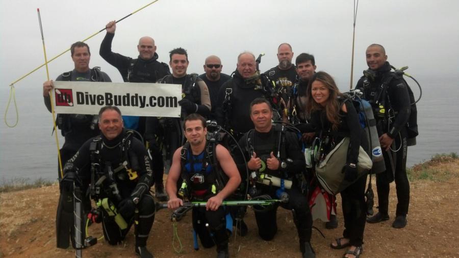 NBTT Dive Club at Neptune Cove, Palos Verdes,Ca.