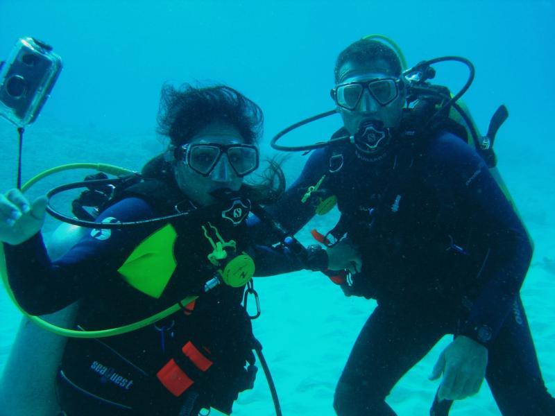 Bryan & Adriana Theis, Honeymoon Diving in Hawaii