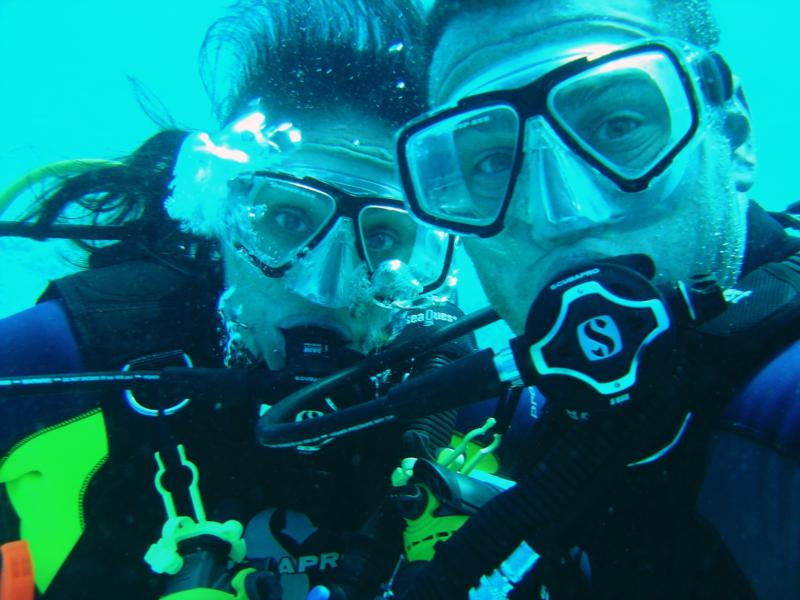 Bryan & Adriana Theis, Honeymoon Diving in Hawaii_2