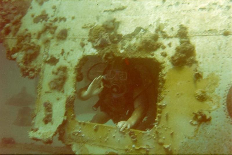 Airplane Wreck St. Thomas