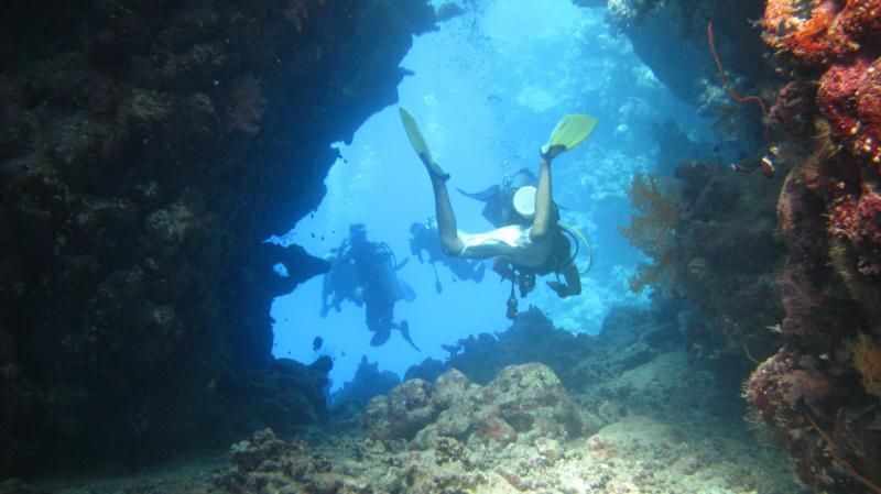 Me inside the Samadai cave (Marsa alam , Egypt)
