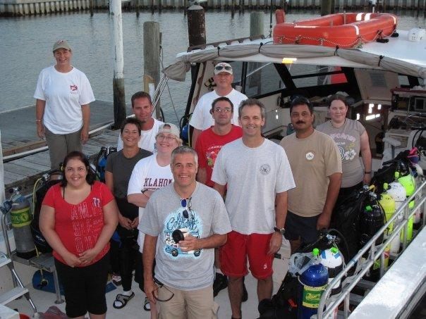 Oct. 3rd dive trip in Clearwater, FL